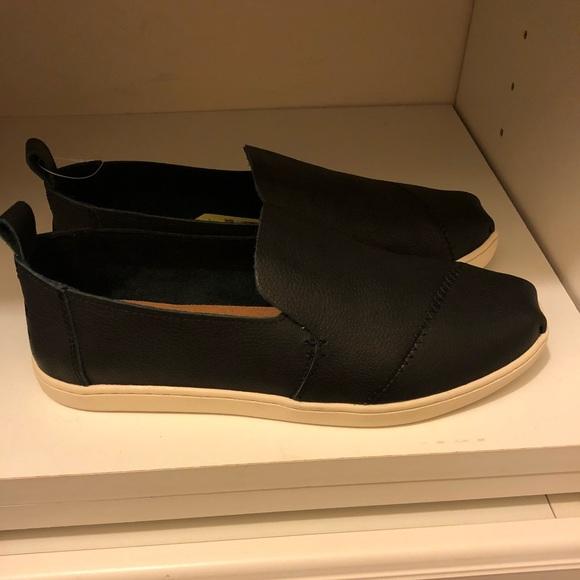 Toms Shoes | Toms Black Leather